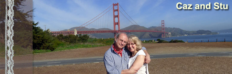 The day of our engagement at the Golden Gate Bridge, California - Thur 19th March, 2015